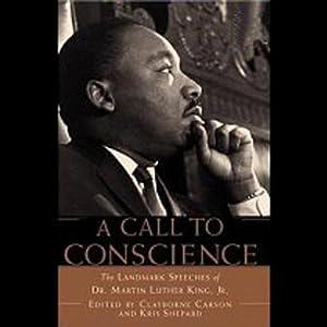 A Call to Conscience Speech