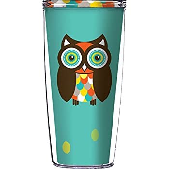 Amazon Com Simon The Owl Traveler 16 Oz Tumbler Cup By