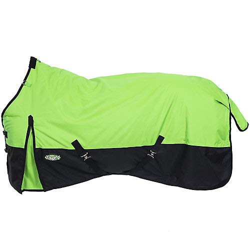 - Tough-1 600 Denier Turnout Blanket 72In Lime Green