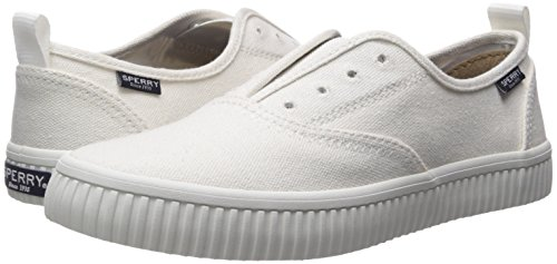 Crest Sneaker Women's sider White Creeper Sperry Top Cvo ZqR7U