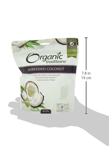 Organic Traditions Organic Shredded Coconut, 8 Ounce (Pack of 12) by Organic Traditions (Image #4)
