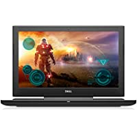 Dell i7577-5241BLK-PUS Inspiron LED Display Gaming Laptop - 7th Gen Intel Core i5, GTX 1060 6GB Graphics, 8GB Memory, 128GB SSD + 1TB HDD, 15.6, Matte Black