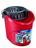 Vileda 10511 SuperMocio Eimer mit Powerpresse - für einfaches und...