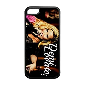 Customzie Your Own Singer Demi Lovato Back Case for iphone5C JN5C-1520