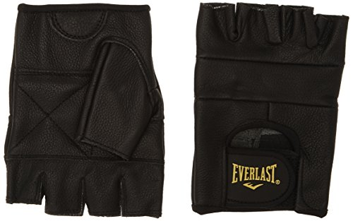 Everlast Erwachsene Boxartikel Ev2474 Leather All Competition, Black, L, 057371 99350