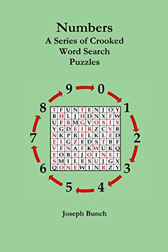 Read Online Numbers: A Series of Crooked Word Search Puzzles PDF