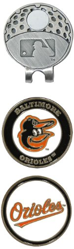 MLB Baltimore Orioles 2 MKR Cap Clip, Black