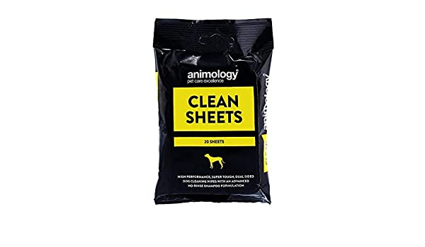 Animology Clean Sheets 20pk pack Of 6