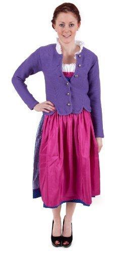 Trachten Jacke , lila, Trachtenjacke, Dirndljacke, Dirndl-Jacke,Trachten Janker für Damen Größe 44