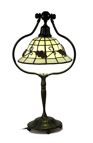 Dale Tiffany Brass Antique Floor Lamp - Springdale by Dale Tiffany STT17136 Savanna Tiffany Table Lamp
