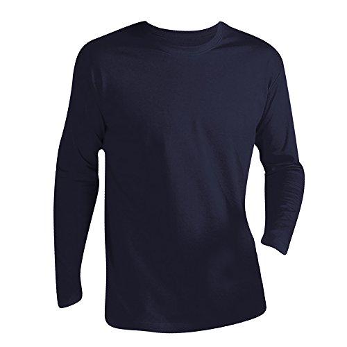 SOLS - Camiseta de manga larga para hombre - Modelo Monarch Gris piedra