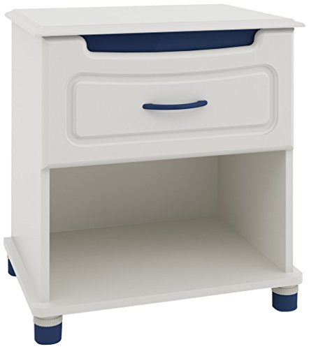 Ameriwood Youth Options Collection Night Stand with Pink/Blue Color Panels by Ameriwood