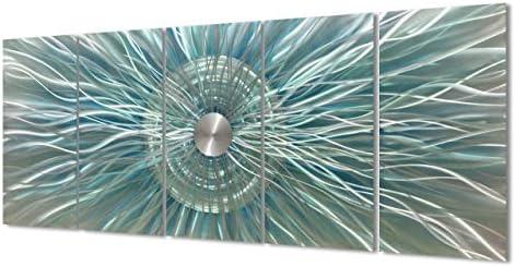 Metal Sunburst Wall Decor 3d Dancing Sun Rays Wall Art Contemporary Abstract Sculpture of Geometric Design