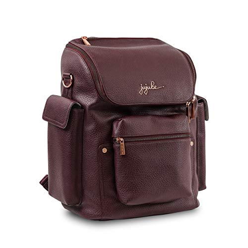 Stone JuJuBe Forever Backpack Multi-Functional Vegan Leather Diaper Bag Ever Collection