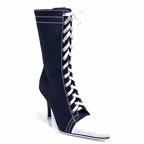 Ellie 457-taylor Donna Sexy Comode Scarpette Da 4,5 Tacco Sneaker Blk