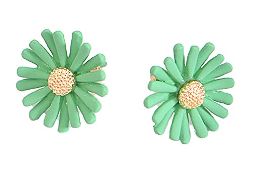 Daisy Post Earrings - Pastel Mint, Pink, White - Vintage Inspired by Hey Viv (mint)