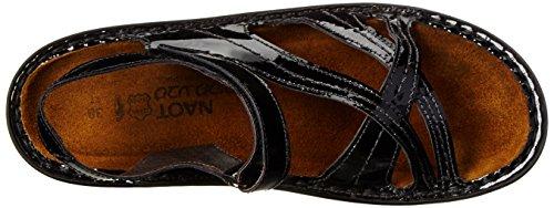 NAOT Black Sandals Paris Patent Women's 4WB4qRHnxw