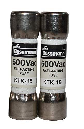 Multimeter fuse 15A 600V fast acting fuse KTK-15 10X38MM In UK