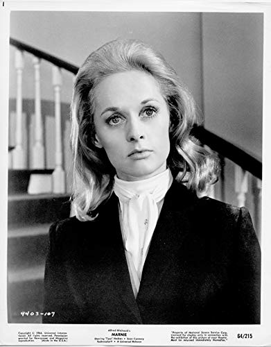 Alfred Hitchcock's Marnie original 1964 8x10 photo Tippi Hedren portrait