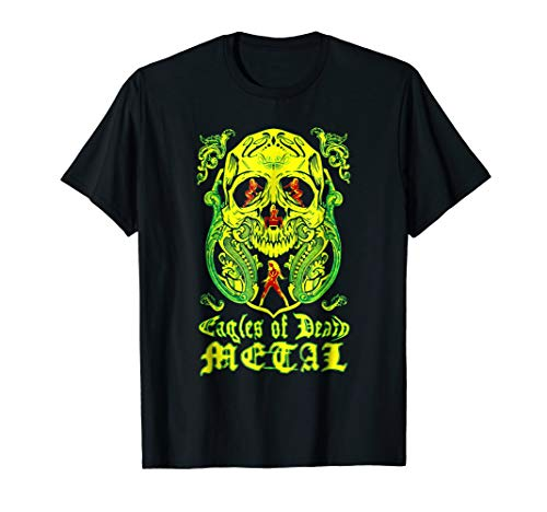 Eagles T-shirt Death Metal (Us Rock Group Eagles Of Death Metal)