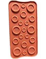 Silicone Button Chocolate Mold Candy Mold Jelly Ice Cube Tray Muffin Sugar Craft Fondant Mold Mould Cake Decorating Tools