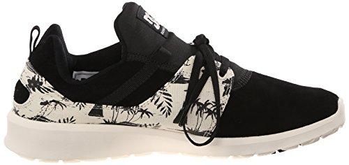 DC Heathrow Se chaussures pour hommes, EUR: 42, Black/White Print