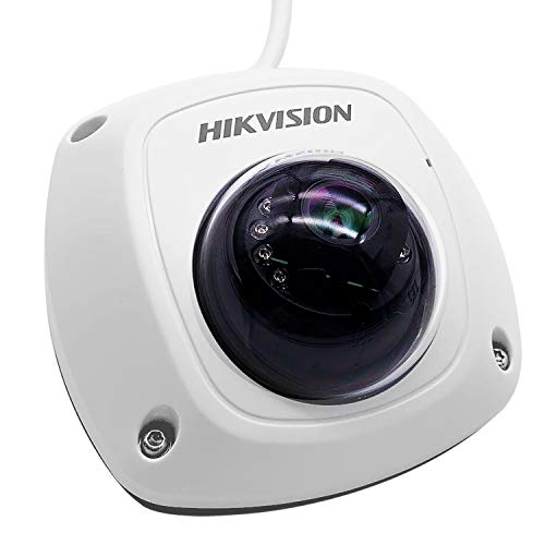 IP Dome Network Camera for Hikvision 4MP/DS-2CD2542FWD-IS 2.8MM WDR IR Day/Night Built-in Microphone POE ONVIF (Internatinal Version Firmware Upgradeable)