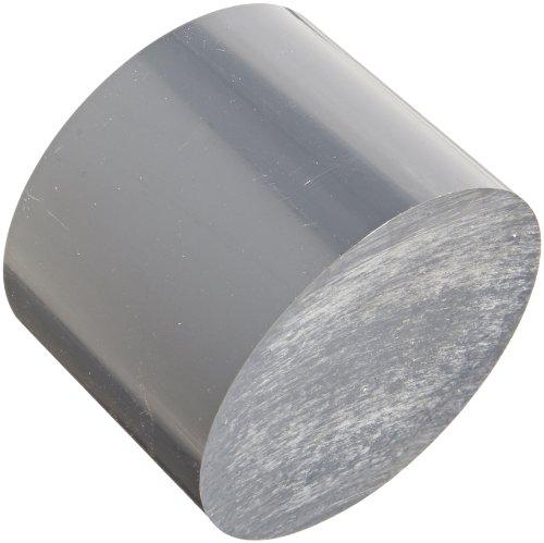 PVC (Polyvinyl Chloride) Disc, Opaque Gray, Meets UL 94V0, 4
