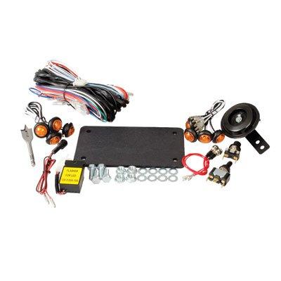 (Tusk UTV Street Legal Horn and Signal Kit (Excluding Mirrors)- Yamaha Rhino, Kawasaki Mule/Teryx, Polaris Ranger, Arctic Cat Prowler)