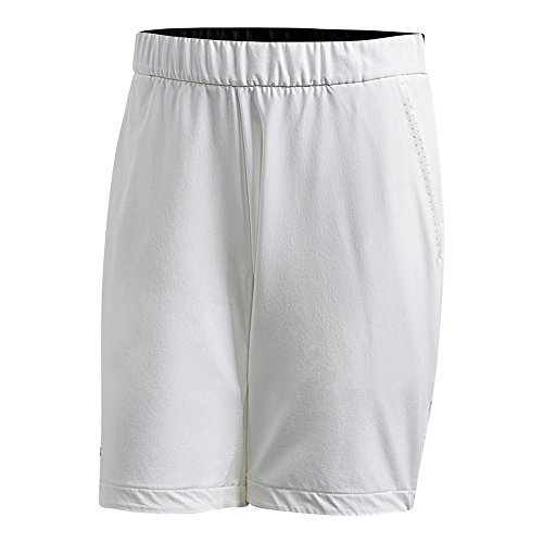 adidas Men's Barricade Bermuda Shorts White Large - Bermuda Mens