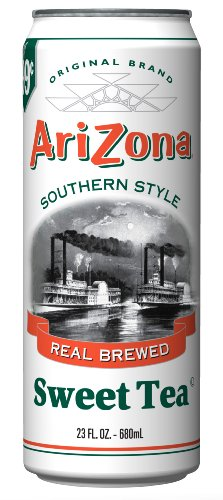 Arizona Sweet Tea, 23-Ounce (Pack of 24) ()