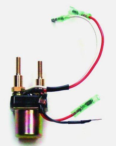 Kawasaki Starter Relay Models 650 SX 1987-1991, 650 X2 1991 WSM 004-130 OEM# - Crankshaft Oem Kawasaki