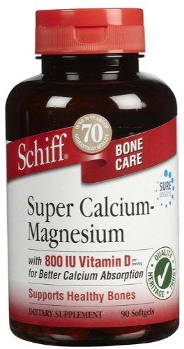 Schiff Super Calcium Magnesium With Vitamin D - 90