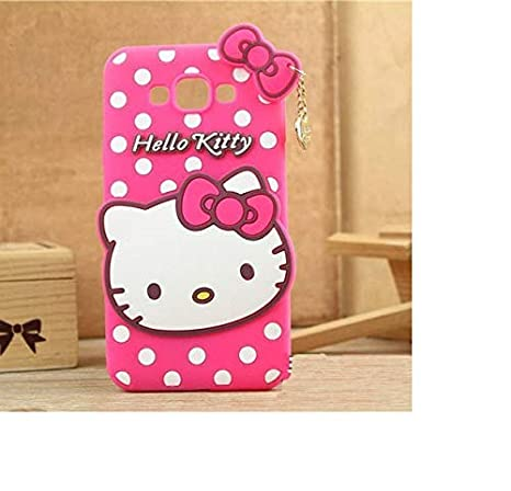 COVERNEW Rubber Back Cover for Samsung Galaxy J3 Pro   Baby Pink KittyRubberBackGalaxyJ3ProBabyPink