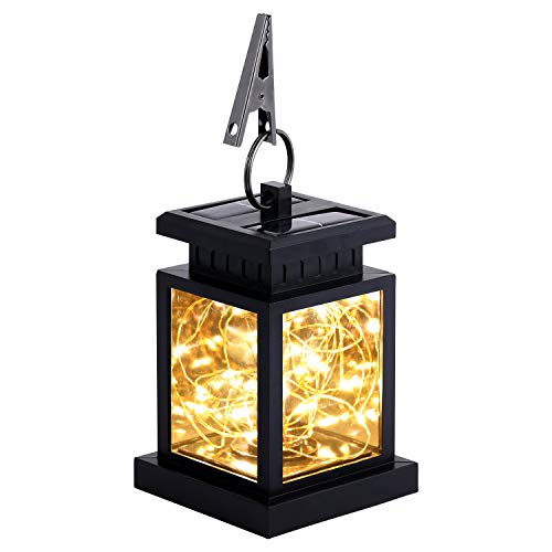 - Solar Lanterns Outdoor Hanging Waterproof, 30 LED Decorative String Fairy Lamps Solar Table Lamps Outdoor Garden Lights for Patio Landscape Yard (1 Pack)