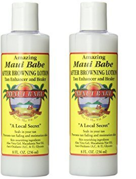 Maui Babe 8oz After Browning Lotion Set of 2 by Maui Babe