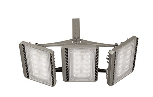 SOLLA 150W CREE LED Flood Light Outdoor 3-Head Security L...