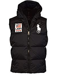 Men's Big Pony Alpine Ski Down Puffer Vest