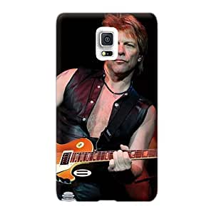 Samsung Galaxy Note 4 Hjy5728EhXS Custom Vivid Bon Jovi Band Series Bumper Phone Cases -LisaSwinburnson