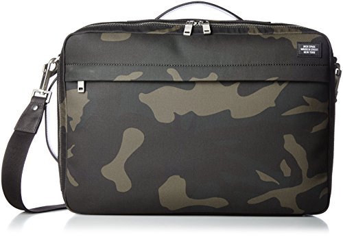 Used, Jack Spade Men's Camo Waxwear Convertible Briefpack for sale  Delivered anywhere in USA