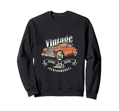 Vintage Classic Car Sweatshirt