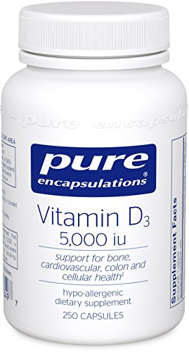 Pure Encapsulations Vitamin D3 5,000/10,000