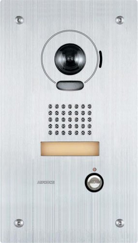 - Aiphone Corporation is-DVF Video Door Station for is Series, Local Hardwired Video Intercom, Stainless Steel, 10-7/16