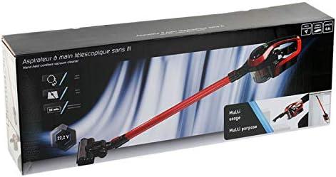 Aspirateur Ciclone Cyclone et aspirateur télescopique sans fil 0,6 l et batterie lithium 6390