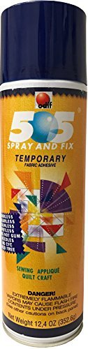Odif USA 505 Spray and Fix Temporary Fabric Adhesive ()