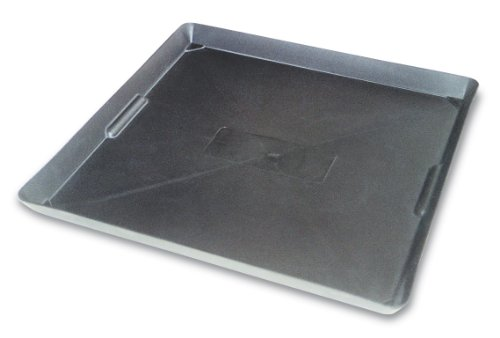 WirthCo 40092 Funnel King Drip Tray - Black 22' x 22'x 1.5', Pack of 1