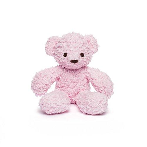 Bears For Humanity Organic Baby Sherpa Bear Plush Animal Toy, Pink, 10