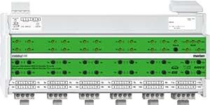 Merten 649912 REG-K - Módulo de control de persianas con funcionamiento manual (12x, 24x, 10 A), color gris claro