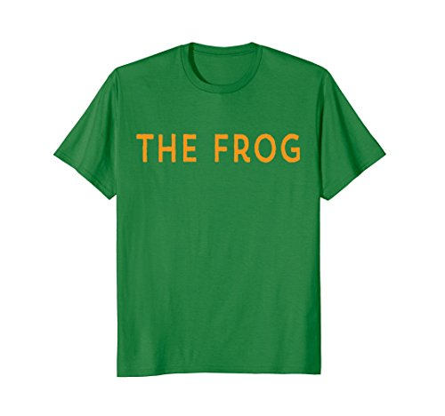 Mens Princess Funny Matching Halloween Costume and Her FROG Shirt XL Kelly Green ()