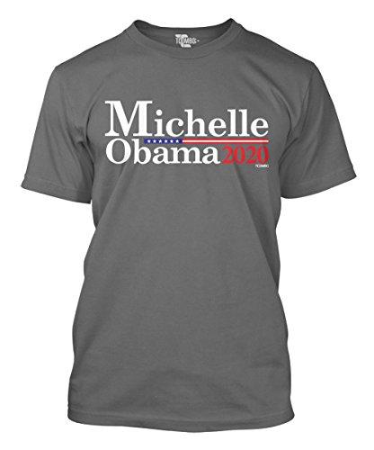 Michelle Obama For President 2020 Men's T-Shirt (2XL, - Clothing Michelle Obama